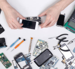 لوازم تعمیر موبایل